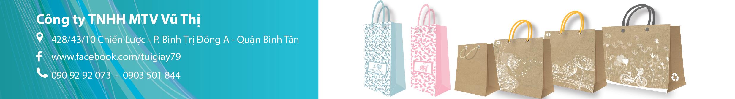 Túi Giấy Giá Rẻ – Túi giấy Vũ Thị