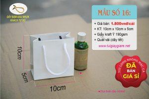 Túi giấy kraft mini