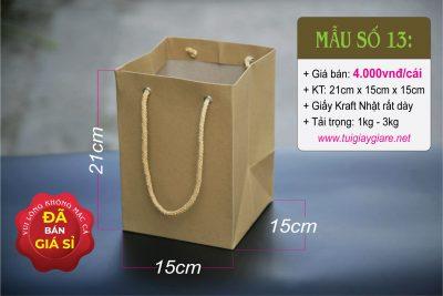 Túi Kraft vuông