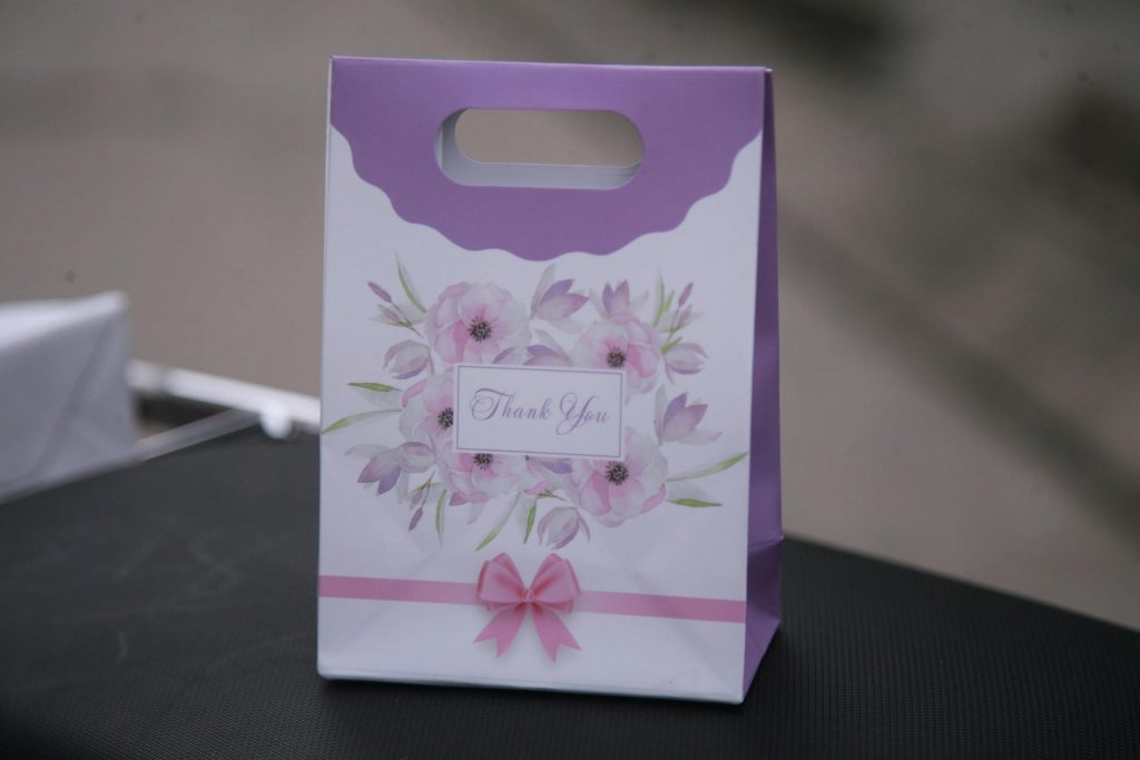 Túi giấy nắp gấp mini