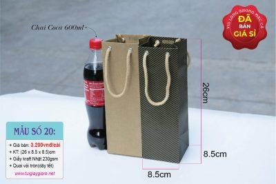 Túi giấy kraft vuông