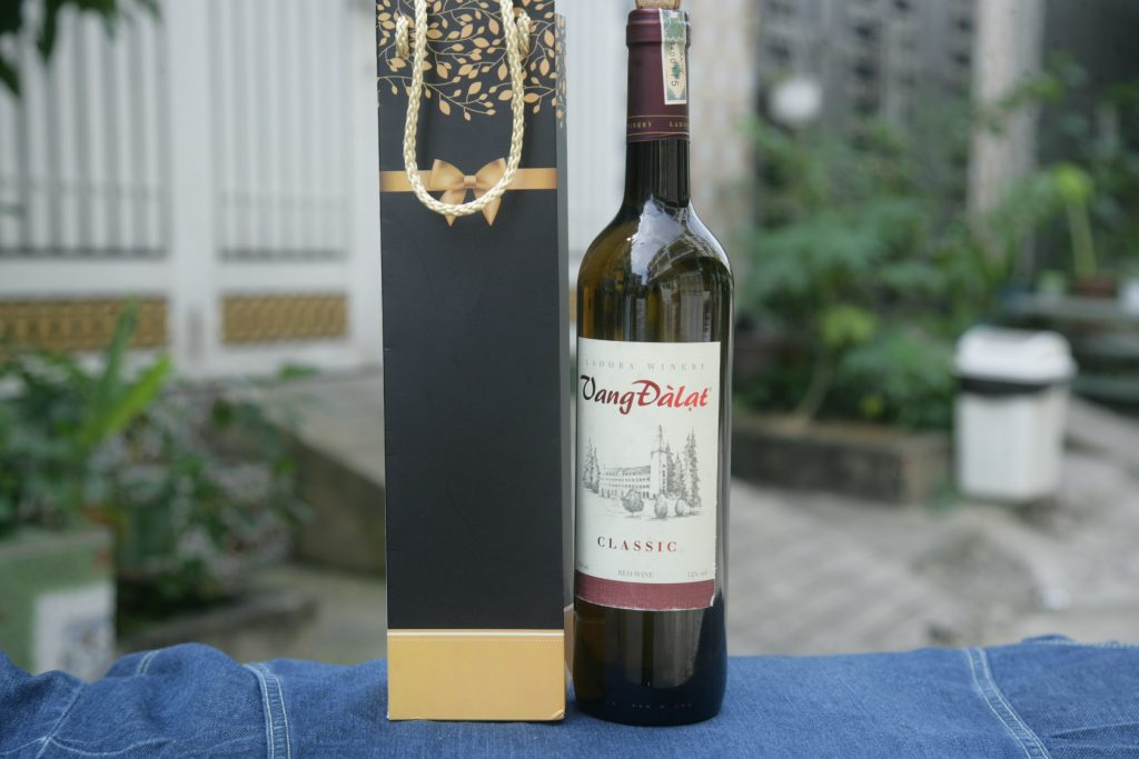Túi giấy đựng rượu Vang