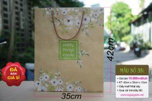 Túi giấy đựng quà size XL