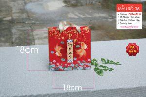 Túi giấy đựng quà tặng tết