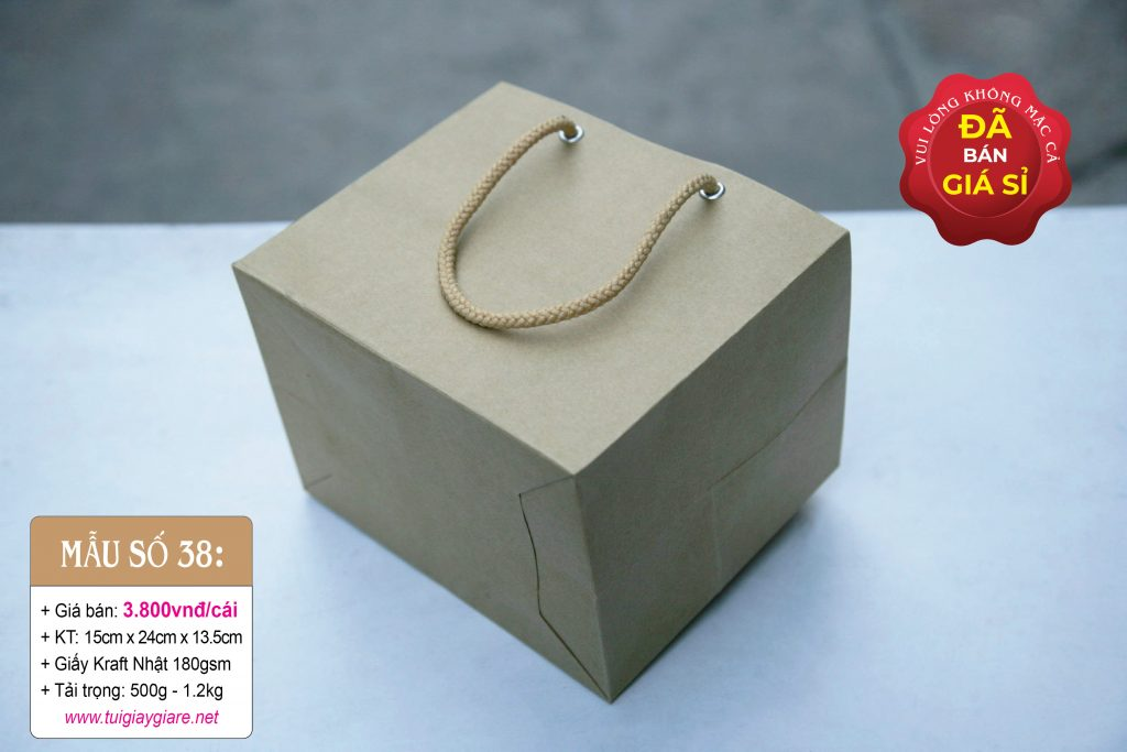Túi giấy kraft tphcm
