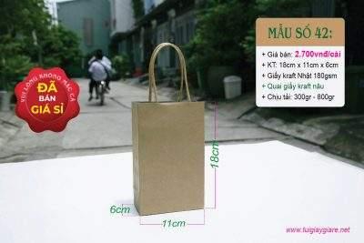 Túi quai giấy mini