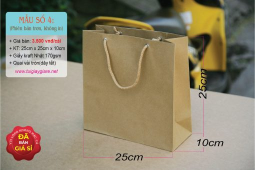 Túi giấy kraft nhật
