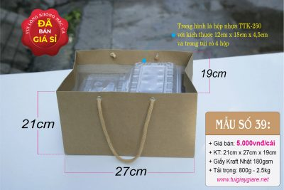 Túi đựng thức ăn mang đi