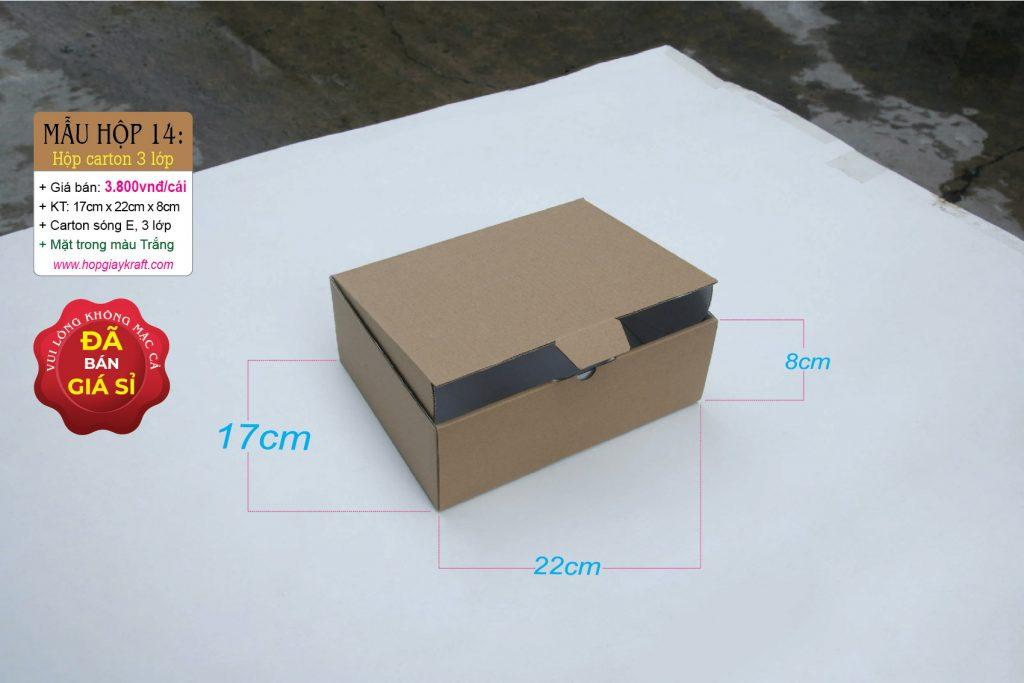 Hộp carton 3 lớp