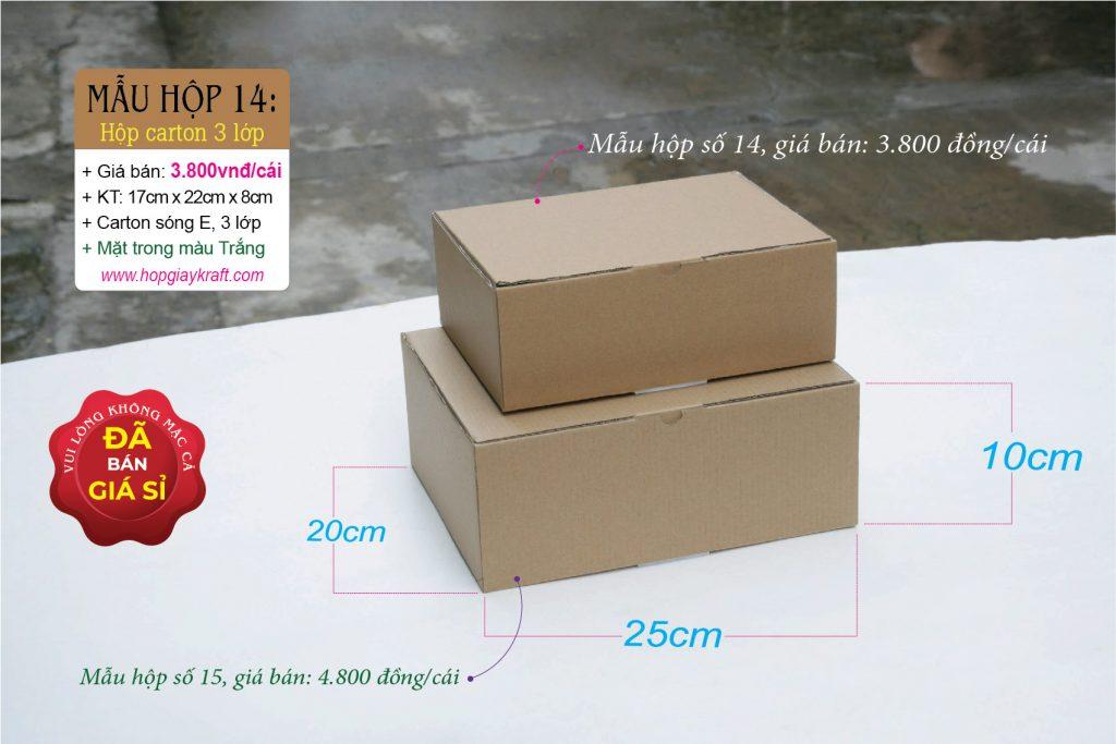 Hộp giấy carton đựng hàng hóa