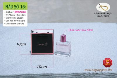 Túi size mini màu đen