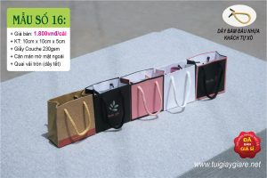 Túi giấy size mini