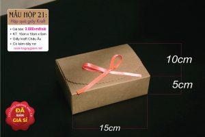 Hộp quà giấy kraft