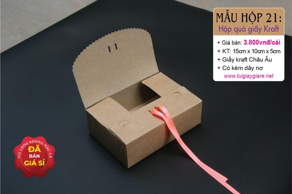 Kraft paper boxs www.tuigiaygiare.net