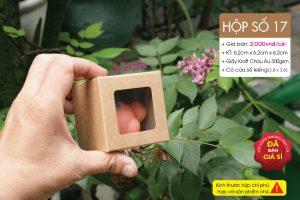 Hộp giấy vuông mini