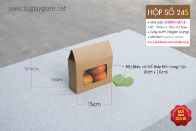 hộp giấy đựng tôm khô, hạt ngũ cốc huệ điền
