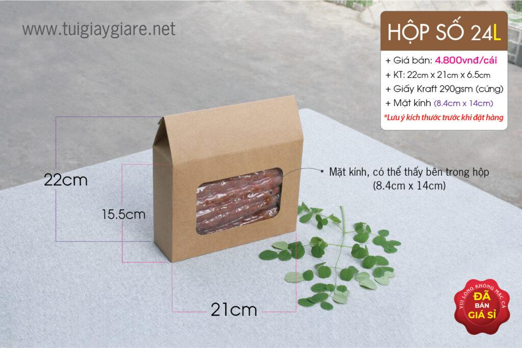 Kraft paper box by Vũ Thị ltd