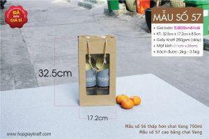 Túi giấy đựng thực phẩm trái cây ngày Tết