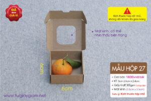kraft box mini